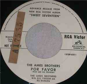 Ames Brothers With Bill Finegan And His Orchestra - Por Favor