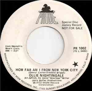 Ollie Nightingale - How Far Am I From New York City / May The Best Man Win