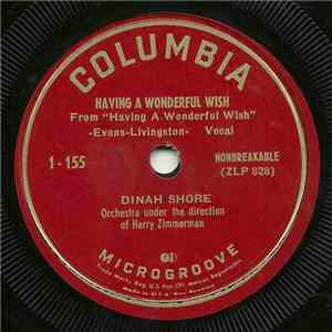 Dinah Shore - Having A Wonderful Wish / The Story Of My Life