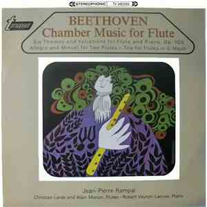 Beethoven, Jean-Pierre Rampal - Chamber Music For Flute