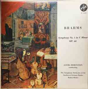 Brahms - The Symphony Orchestra Of The Southwest German Radio, Baden Baden, ...